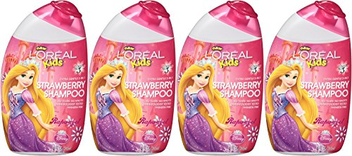 L'Oreal Kids Extra Gentle 2-in-1 Shampoo, Rapunzel / Strawberry, 9 Ounce, (Pack of (Angel Scented Shower Gel)