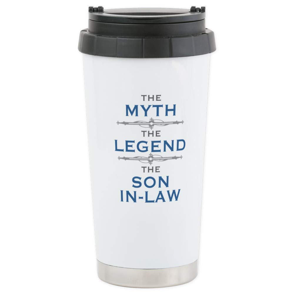 c9c28919113 Amazon.com  CafePress Myth Legend Son-In-Law Stainless Steel Travel ...