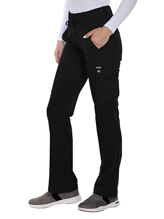 Grey's Anatomy Signature 2218 Trouser Cargo Pant Black S best women's scrub pants