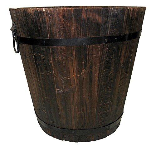 a Dark Flame Wood Bucket ()