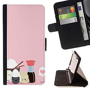 King Art - Premium-PU-Leder-Prima caja de la PU billetera de cuero con ranuras para tarjetas, efectivo Compartimiento desmontable y correa para la mu?eca FOR LG G3 LG-F400 D802 D855 D857 D858 - Cute Girl
