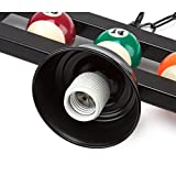 "59"" Hanging Billiard Light for 7ft/8ft/9ft Pool"