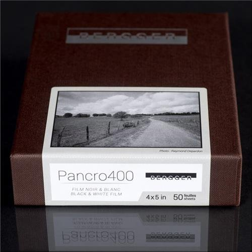 Bergger Pancro 400 Black and White Photographic Film, 8x10&quot, 25 Sheets by Bergger