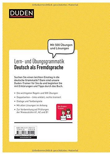 Lern Und übungsgrammatik Deutsch Als Fremdsprache Verstehen üben
