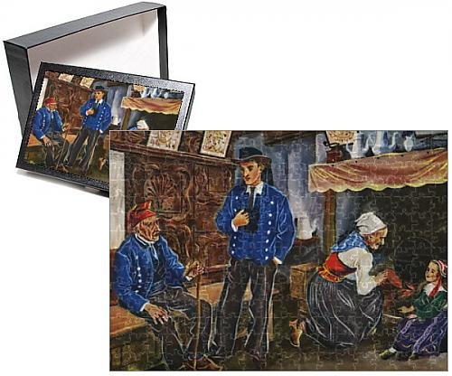 Photo Jigsaw Puzzle of Plougastel-Daoulas, Finistere, Brittany