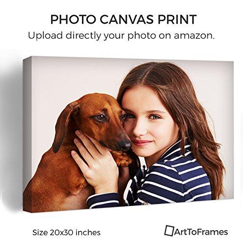 Custom Art Photo - ArtToFrames Photo To Canvas Gallery Wrap 1.5 Inch – 20x30
