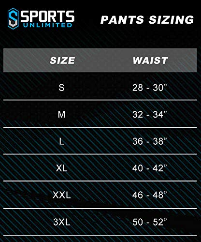Sports Unlimited Double Knit Adult Integrated Football Pants Navy Medium