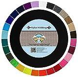 Country Brook Design - Nylon Webbing (Black, 10 Yards, 5/8 Inch)