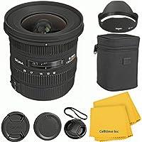 Sigma 10-20mm F3.5 EX DC CT Lens Kit for Canon 70D, 7D, T3, T3i, T4i, T5i, 60D, DSLR Cameras