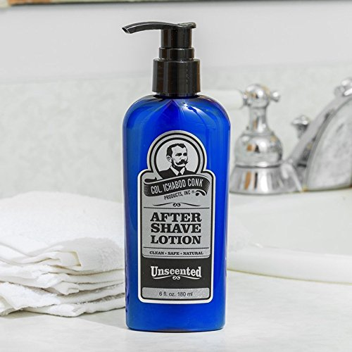 Col. Ichabod Conk Unscented Aftershave Lotion 6 fl. oz.