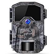 #LightningDeal APEMAN Trail Camera 16MP 1080P Wildlife Camera, Night Detection Game Camera with No Glow 940nm IR LEDs, Time Lapse, Timer, IP66 Waterproof Design