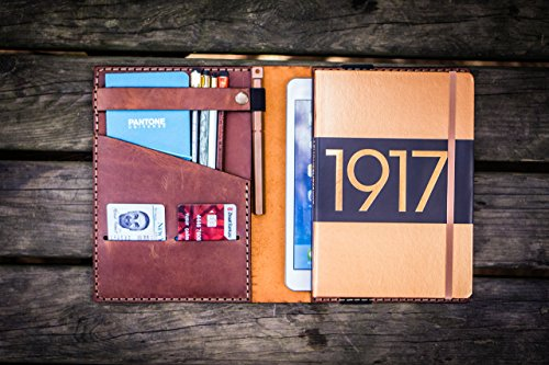 Leather Leuchtturm1917 A5 Notebook Cover - Crazy Horse Tan ()