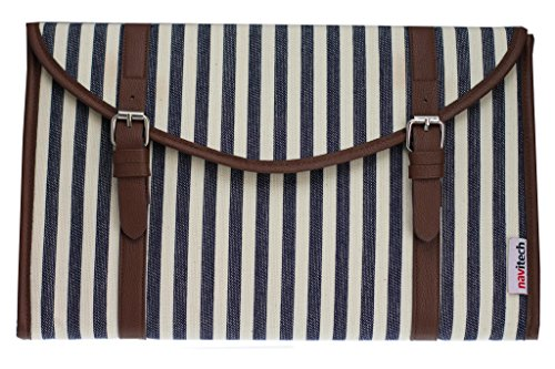 Navitech Canvas Fabric Style Laptop Sleeve Bag Case Cover For The Acer Aspire E1 / M / R7 / V3 / V5