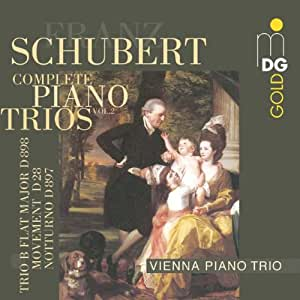 Schubert: Complete Piano Trios, Vol. 2