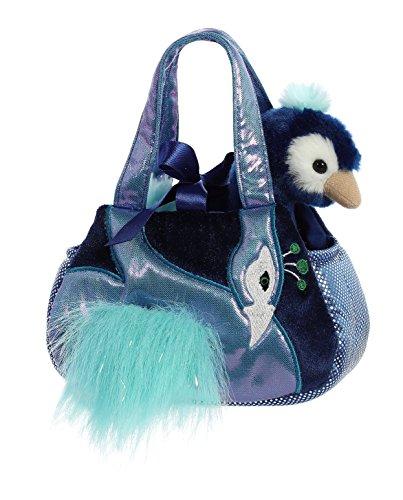 Aurora World Pet Carrier Plush Toy, Multicolor