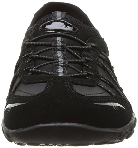 easy Breathe Skechers City Blk Lights Mujer Para Zapatillas De Deporte AqC6Cn