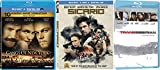 Great Drama and Action Blu-ray Pack - Gangs of New York, Sicario, & Transsiberia 3-Movie Bundle
