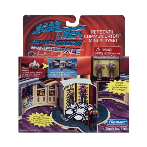 Star trek Personal Communicator Mini Playset by Playmates