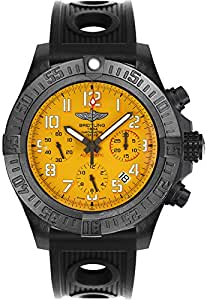 Breitling Avenger Hurricane 45 Yellow Dial Men's Watch XB0180E4/I534-200S