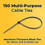 Strong Ties Brand Premium Black Nylon Cable