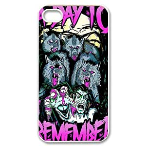 Customize Famous Rock Band A Day To Remember Back Case for iphone4 4S JN4S-1715