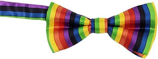 Yanhonin - Corbata de Arco Iris: Amazon.es: Hogar