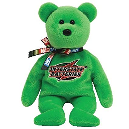 c36a54018d7 Amazon.com  Ty NASCAR J.J. Yeley   18 - Bear  Toys   Games