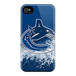 For Case HTC One M7 Cover Fashion Design Vancouver Canucks Cases-oXy15025STLW