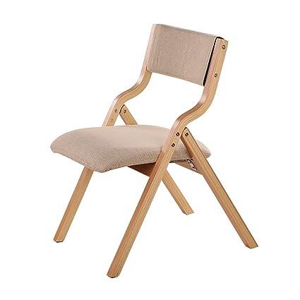 silla plegable Sillas de madera para sillas plegables Silla de ...