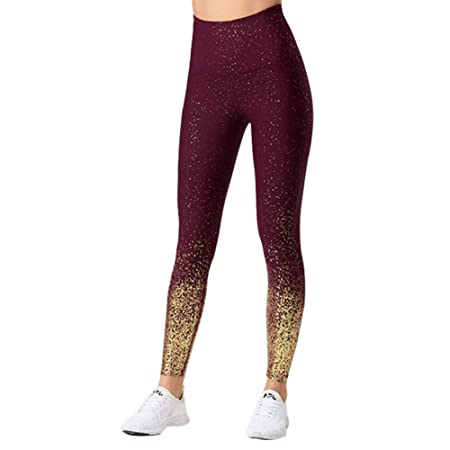 Meigold - Pantalones de Yoga para Mujer, con Costuras ...