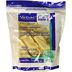 C.E.T. Enzymatic Oral Hygiene Chews for Medium Dogs, 30 Chews (1 Bag) by Virbac
