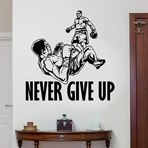 haotong11 Nunca te Rindas Boxeo Tatuajes de Pared Deportes ...