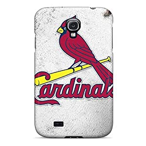 Galaxy S4 Hard Back With Bumper Silicone Gel Tpu Case Cover St. Louis Cardinals