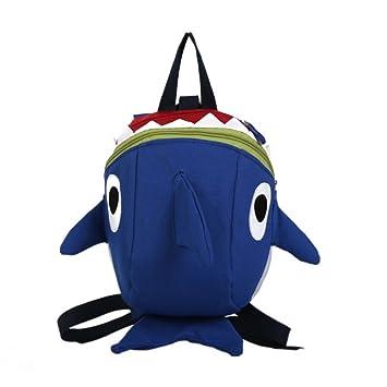 e0d960a7d1 New Kindergarten Backpack Cute Small Shark Schoolbag Baby Boys Girls  Bookbags 3D Cartoon Bag Children Backpacks