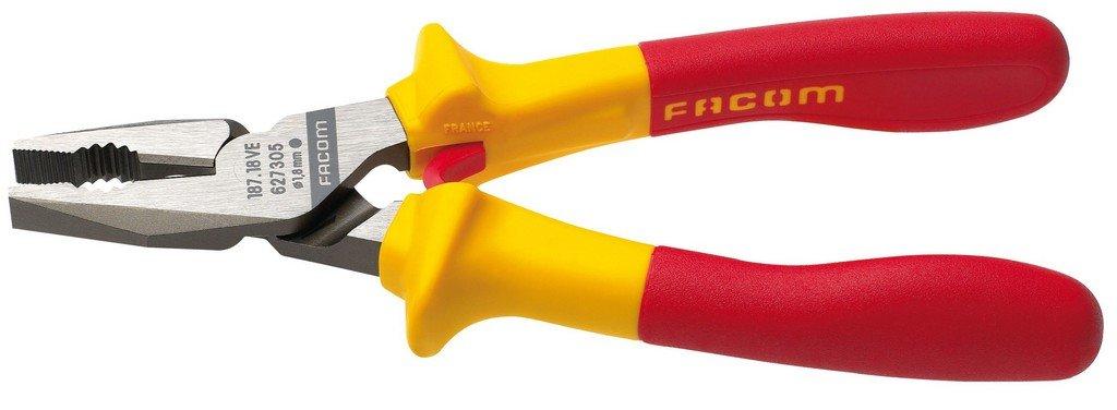 Facom 187.18VE Alicate universal aislado (18 cm): Amazon.es: Bricolaje y herramientas