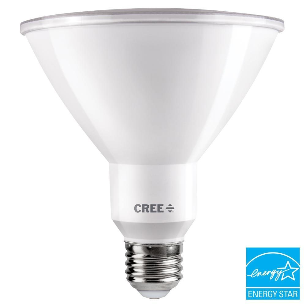 Cree 150W Equivalent Bright White (3000K) PAR38 Dimmable Exceptional Light Quality LED 40 Degree Flood Light Bulb by CREE