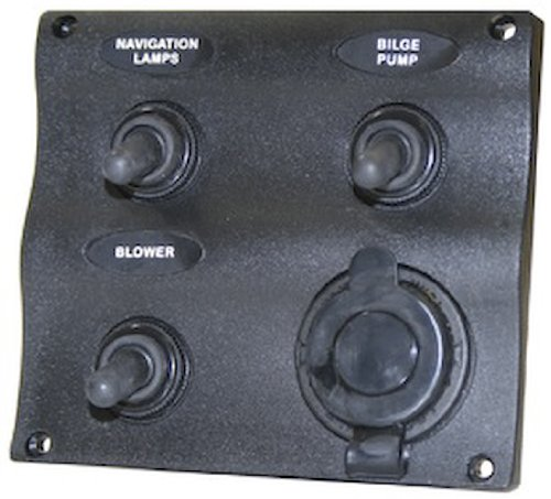 (Seasense Marine 3 Way Switch Panel)