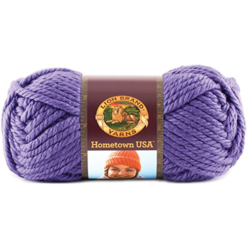 Lion Brand Yarn Hometown Yarn, Minneapolis Purple