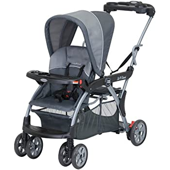 Amazon Com Elite Sit N Stand Double Stroller Tandem