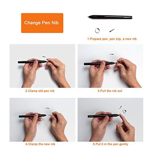 GAOMON ArtPaint AP20 Wireless Digital Art Stylus Environmentally-friendly Rechargeable Pen for GAOMON S56K & M106K Tablet by GAOMON (Image #3)