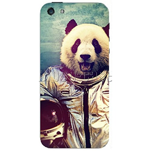 COQUE PROTECTION TELEPHONE Iphone 5 ET 5S - PANDA COSMONAUTE
