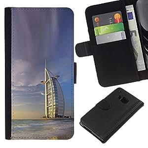 Stuss Case / Funda Carcasa PU de Cuero - Burj Dubai - HTC One M9