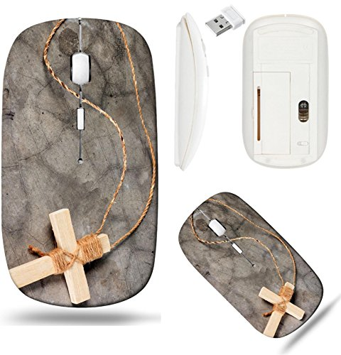 - Liili Wireless Mouse White Base Travel 2.4G Wireless Mice with USB Receiver, Click with 1000 DPI for notebook, pc, laptop, computer, mac book Wooden antique look crucifix necklace isolated on grunge w