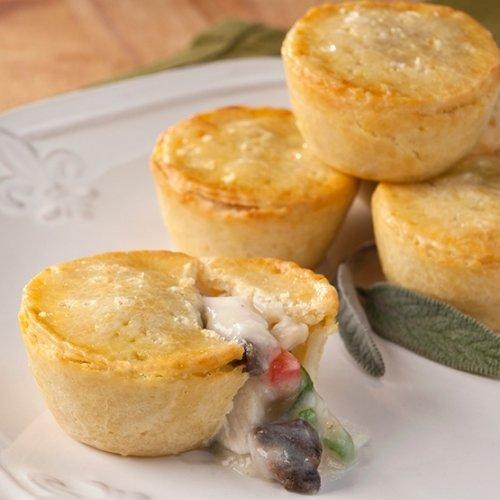 chicken and mushroom pie - 5
