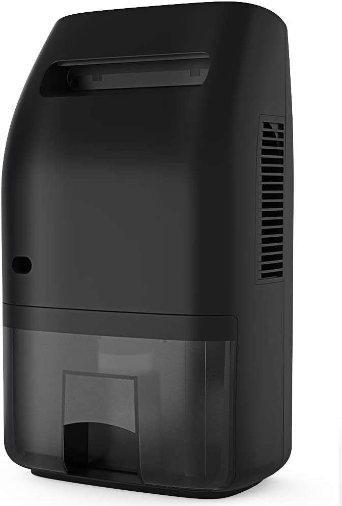 Afloia Dehumidifier for Home 2000ML(68 oz) Water Tank, Portable Quiet Dehumidifier 2200 Cubic Feet(269 sq.ft) Home Electric Dehumidifiers for Bathroom Space Bedroom Kitchen Caravan Office (Dark)