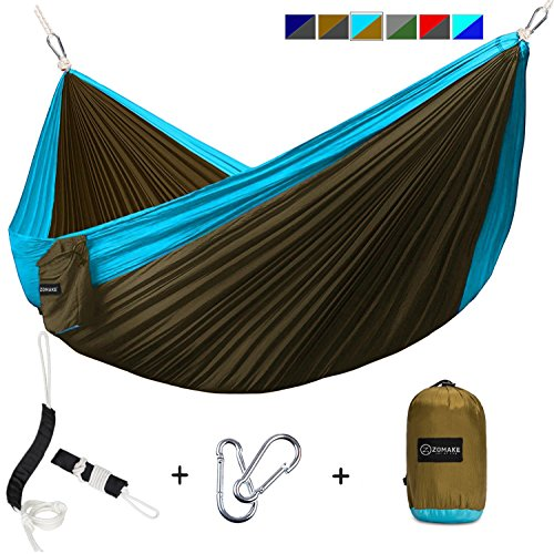 Double Camping Hammock Parachute Backpacking product image