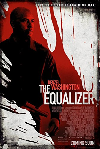 THE EQUALIZER MOVIE POSTER 2 Sided ORIGINAL 27x40 - Equalizer Poster
