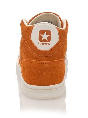 Converse Converse Leather Pro-Mid Scarpe Uomo Sport Schaufel 141604C, orange Orange/Weiß