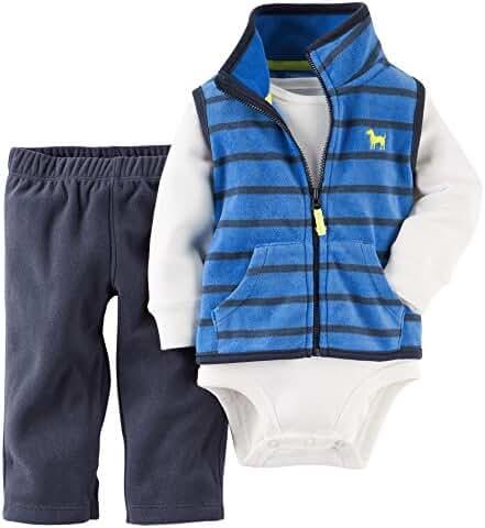 Carter's Vest, Bodysuit and Pants - Baby Boys newb