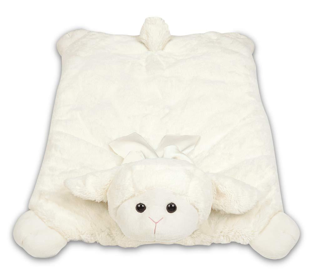 Bearington Baby Plush Belly Play Mat Lamby Plush